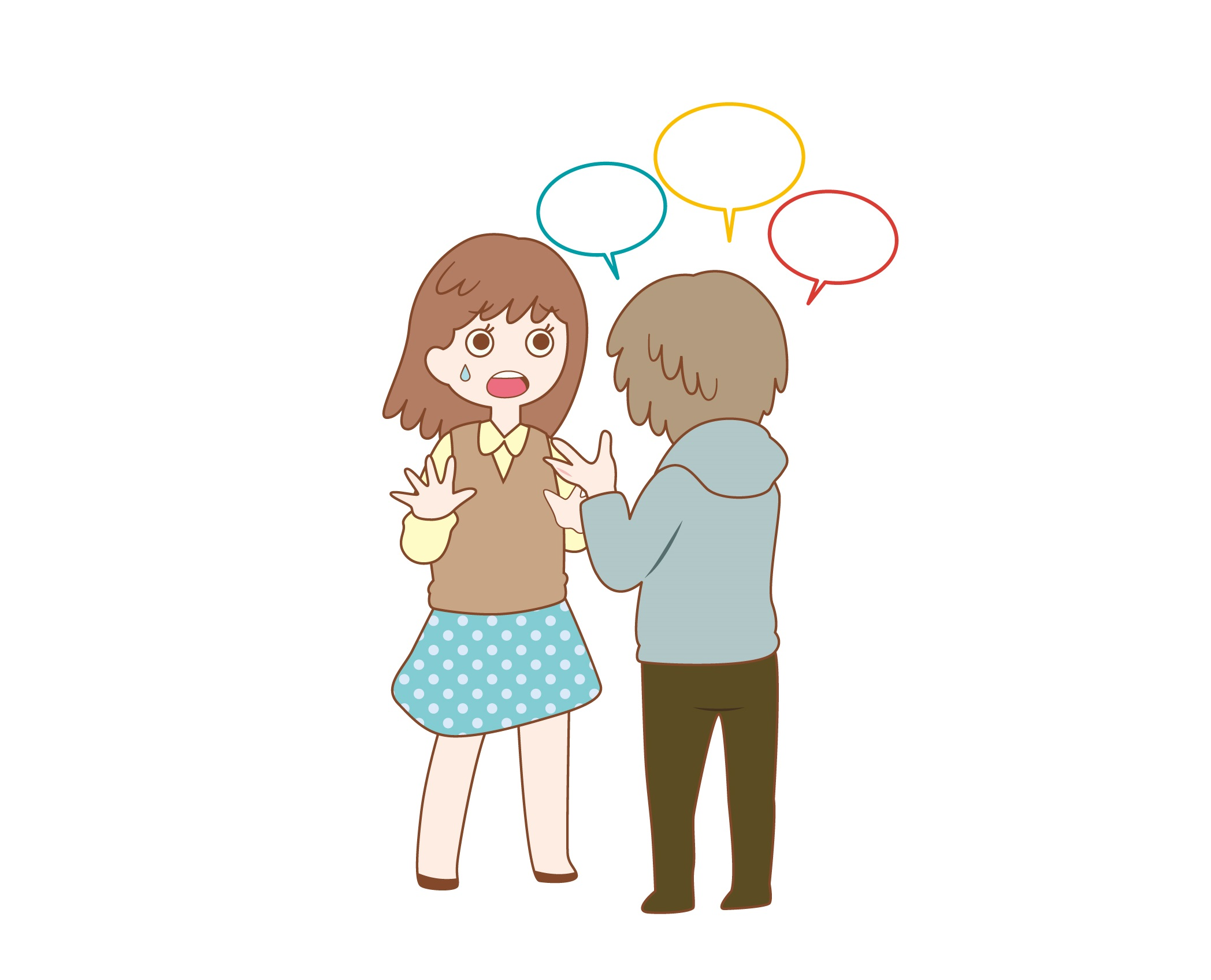 よく騙されてしまうのは優しくて気が弱いから?人付き合いが怖いです…